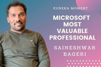 How to become Microsoft's Most Valuable Professional – Saineshwar Bageri